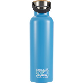 360° degrees Vacuum Insulated Drink Bottle 750ml, aqua